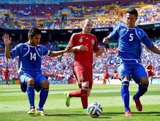El Salvador 0-España 2. Amistoso pre mundial