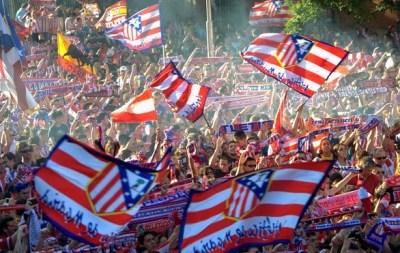 Los festejos del Atlético de Madrid en la Plaza Neptuno