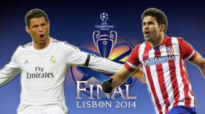 Cristiano Ronaldo vs. Diego Costa. Final Champions League