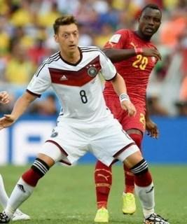 Alemania 2-Ghana 2. Mundial Brasil-Grupo G