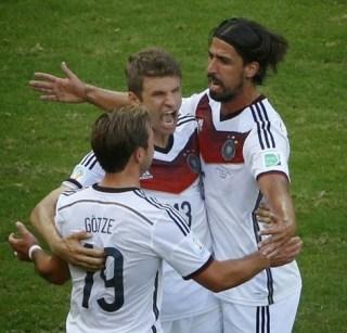 Alemania 4-Portugal 0. Mundial Brasil-Grupo G