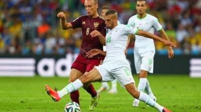 Argelia 1-Rusia 1. Mundial Brasil-Grupo H