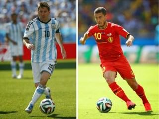 Alineación y la previa Argentina-Bélgica. Cuartos de final