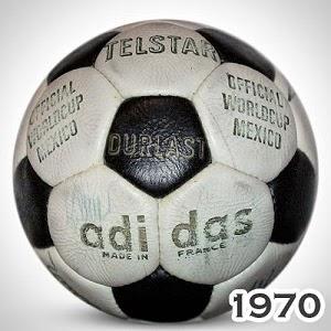 Balón Mundial México 1970 Telstar