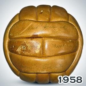 Balón Mundial Suecia 1958 Top Star