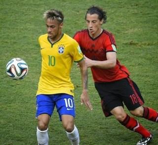 Brasil 0-México 0. Mundial Brasil-Grupo A