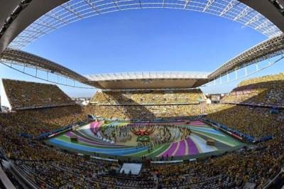 Las mejores imágenes de la Ceremonia inaugural del Mundial Brasil 2014