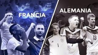 Alineación y la previa Francia-Alemania. Cuartos de final mundial brasil 2104