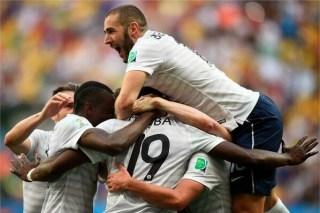 Francia vence 2-0 a Nigeria y está en cuartos: Octavos de final