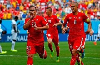 Honduras 0-Suiza 3. Mundial Brasil-Grupo E