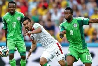 Irán 0-Nigeria 0. Mundial Brasil-Grupo F