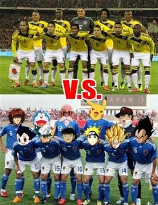Los mejores memes de Colombia-Japón