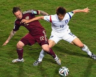 Rusia 1-Corea del Sur 1. Mundial Brasil-Grupo H