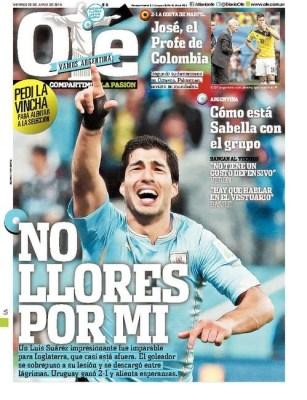 inglaterra uruguay suarez mundial brasil 2014 diario ole