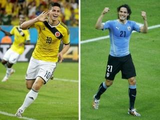 Alineación y la previa Colombia-Uruguay. Octavos de final alineaciones y previa del partido mundial brsil 2014