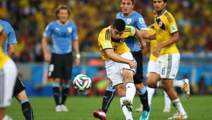 gol james mundial 2014 ante uruguay