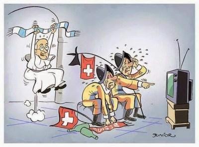 Los mejores chistes y memes del partido Argentina-Suiza: Mundial Brasil