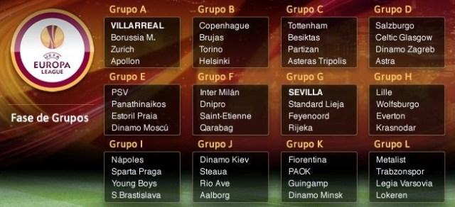 Calendario Europa League 2014-2015