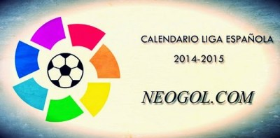Calendario Liga Española BBVA 2014-2015
