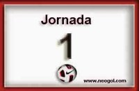 Partidos Jornada 1. Liga Española BBVA 2014