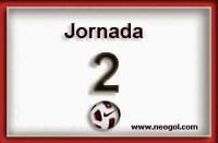 Partidos Jornada 2. Liga Española BBVA 2014 2015