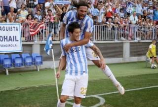 Málaga 1-Athletic Bilbao 0. Jornada 1 Liga Española