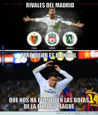 Los mejores memes: sorteo Champions League 2014/15 bolas europa league