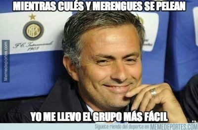 mourinho Los mejores memes: sorteo Champions League 2014/15