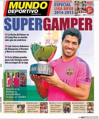 Portada Mundo Deportivo: Supergamper