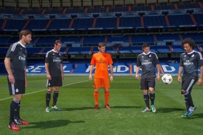 Nueva camiseta negra del Real Madrid para la Champions League