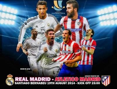 Alineación y la previa Real Madrid-Atlético: Supercopa 2014
