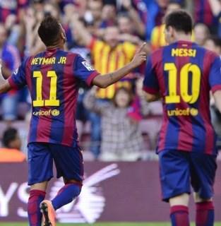 Barcelona 6-Granada 0. Jornada 6 Liga Española