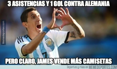 memes cargadas argentina alemania amistoso di maria