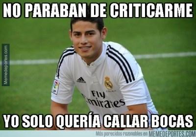 memes cargadas bromas deportivo coruña real madrid liga española 2014 james