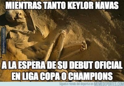 Los mejores memes Real Madrid-Basilea: Champions League keylor navas