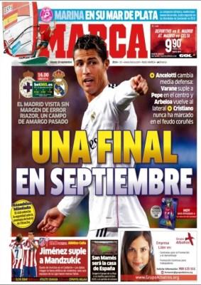 Portada Marca: Cristiano Ronaldo