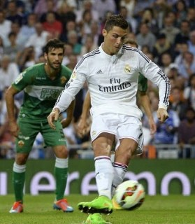 Real Madrid 5-Elche 1. Jornada 5 Liga Española