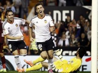Valencia 2-Córdoba 0. Jornada 5 Liga Española