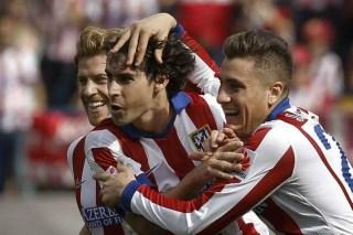 Atlético Madrid 2-Espanyol 0. Jornada 8 Liga Española