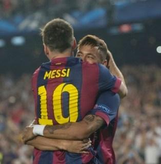 Barcelona 2-Ajax 1. Champions League 2014