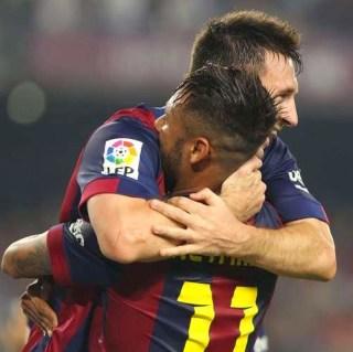 Barcelona 3-Éibar 0. Jornada 8 Liga Española