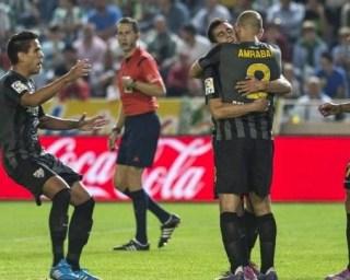 Córdoba 1-Málaga 2. Jornada 8 Liga Española