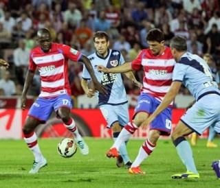 Granada 0-Rayo Vallecano 1. Jornada 8 Liga Española