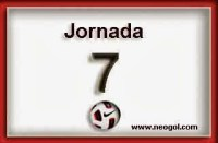 Partidos Jornada 7. Liga Española BBVA 2014-2015