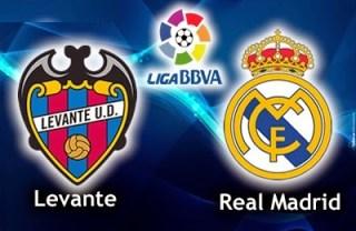 Alineación y la previa Levante-Real Madrid. Jornada 8
