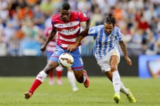 Málaga 2-Granada 1. Jornada 7 Liga Española