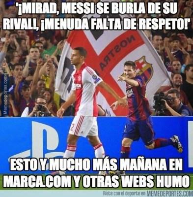 Los mejores memes del Barcelona-Ajax: Champions