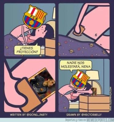 Los mejores memes del Rayo Vallecano-Barcelona claudio bravo proteccion