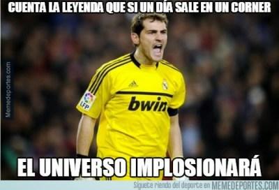 casillas Los mejores memes del Ludogorets-Real Madrid: Champions