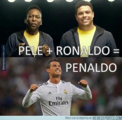 Los mejores memes del Real Madrid-Athletic Bilbao penaldo pele ronaldo